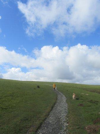 Ascending Latrigg via the mobility path...