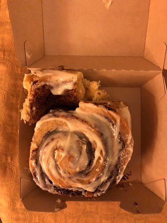 cinammon roll - my husband said just normal but good