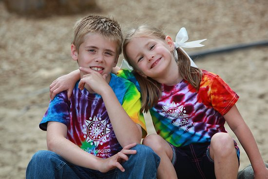 Tie dye shrts for kids too!