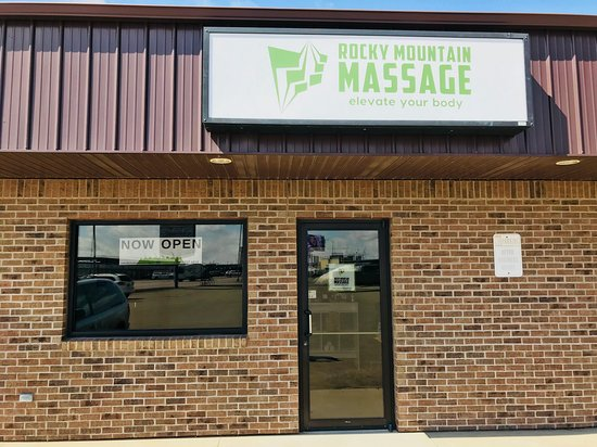 Rocky Mountain Massage: Storefront.  Located at 1329 9th Ave SE. Watertown, SD 57201