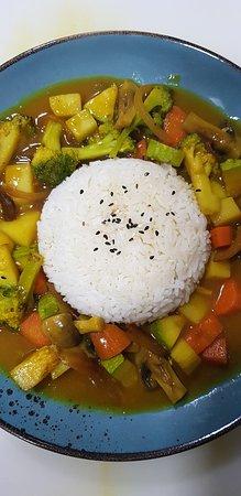Gangnam Food Station: Curry Vegetal
