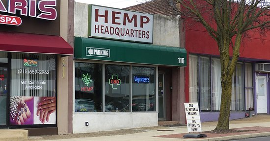 Hemp Headquarters located in Willow Grove, Pennsylvania, USA
