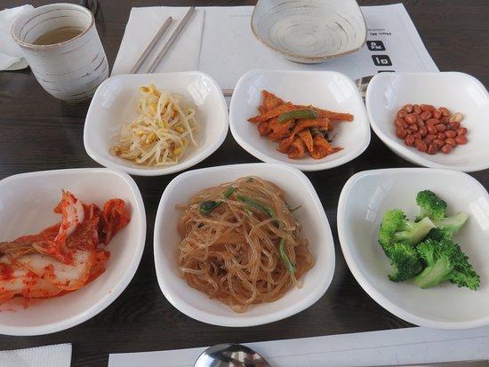 Han Mi Jeong: Banchan - Cabbage Kimchees were awesome!