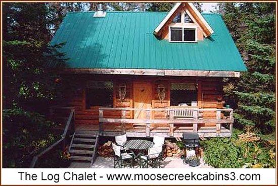 Fritz Creek, อลาสกา: The Log Chalet