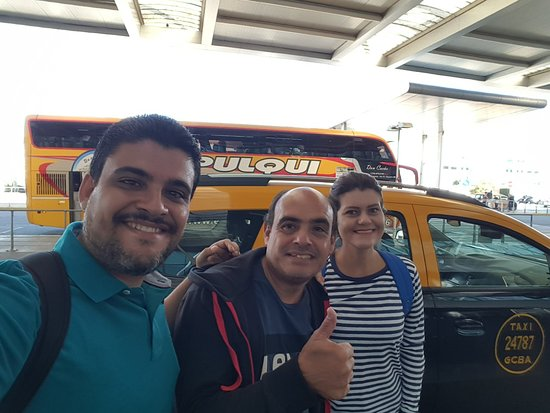 Buenos Aires, Argentína: David Transfer Taxi