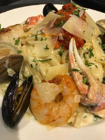 Seafood Linguine Entree
