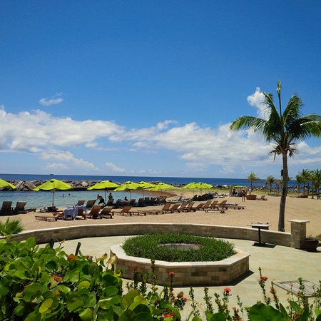 Carambola Beach Club: nice day at the beach