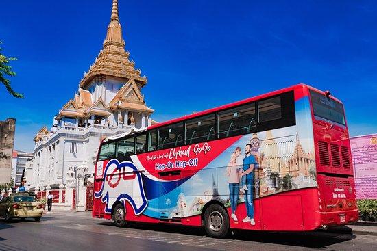 Best Double Decker in Bangkok - Elephant Go Go Hop on Hop off Bus Tour
