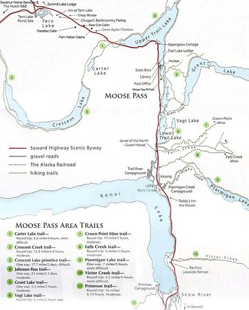 The Moose Pass area has so much to see and do!