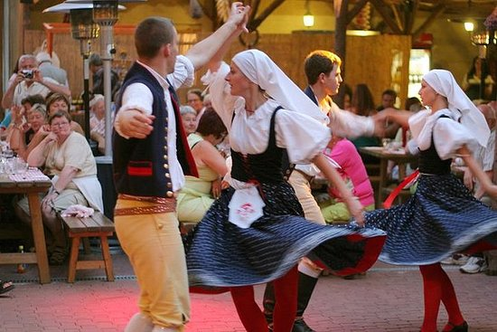 布拉格民俗派對晚餐和娛樂節目