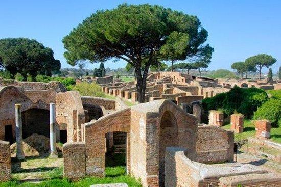 乘火车从罗马出发的古奥斯蒂亚小团体一日游