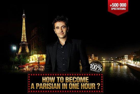 如何在1小时内成为巴黎人? Hit Comedy在巴黎以英语显示100%
