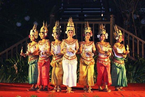 Rendimiento de danza Apsara...