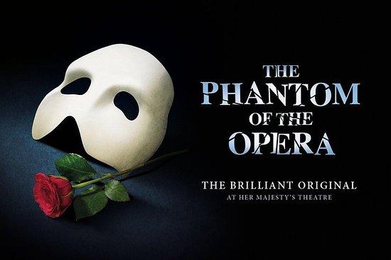 Espetáculo The Phantom of the Opera