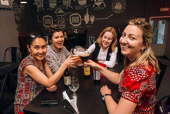 莫斯科晚間之旅:不僅僅是伏特加酒精神