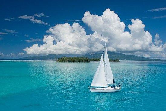 促銷費用7天私人潛水和帆船巡航Bora Bora Tahaa Raiatea