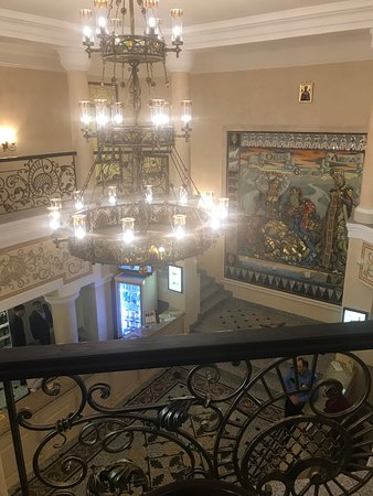 Novoszibirszk, Oroszország: Вид Холла со второго этажа