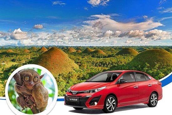 Bohol Tour - Lei bil eller van...