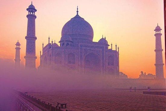 Nuit à Agra au départ de Delhi, avec...