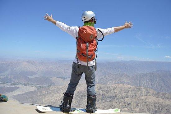 世界最大の砂丘でのサンドボード -  Cerro Blanco