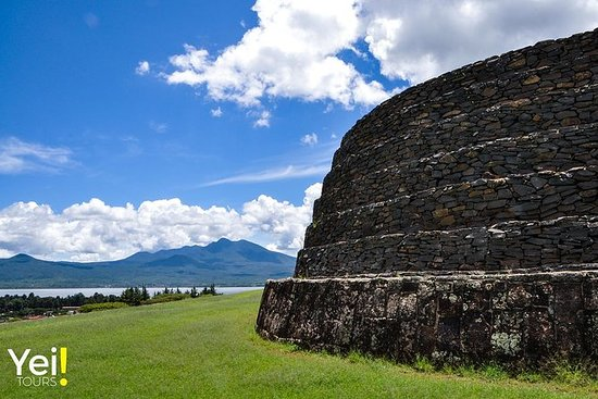 古代Purepecha城市。考古之旅。