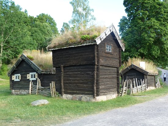 Granna, Suecia: Grännabergets Friluftsmuseum på Grännaberget i Gränna