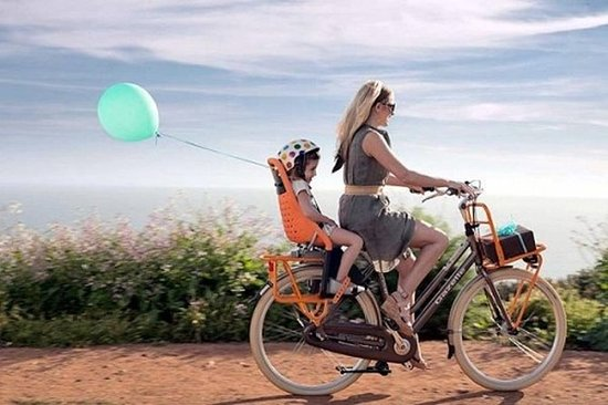 Tour de famille à vélo: visiter Playa...
