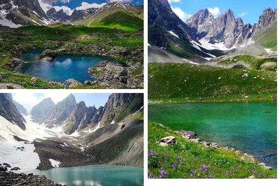 En dag tur på Abudelauri Color Lakes
