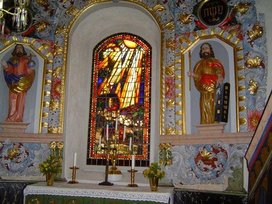 Alvesta, Suecia: Altartavlan i Härlövs Kyrka i Härlöv