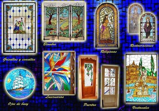 """Vidrieras y artesania """"Art-Deco"""""""