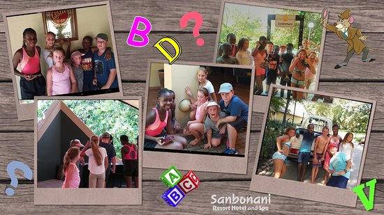 School Holiday Entertainment Fun for the little people of Sanbonani