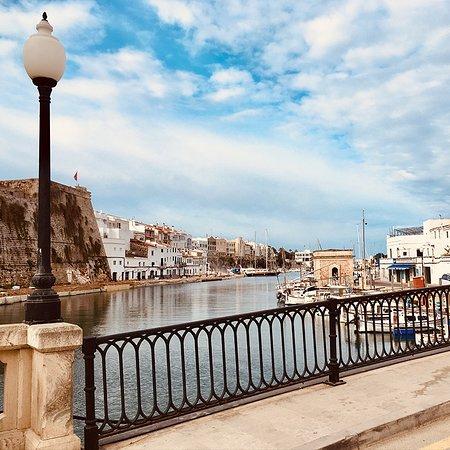 Vistas al Port de Ciutadella