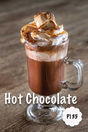 Metro Manila, Filipiny: Hot Chocolate
