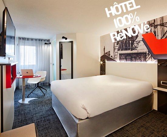 Chambre hôtel 100% rénové