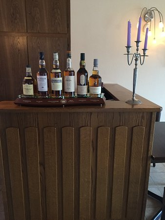 Landhaus Nordenau: mooie collectie single malt whiskey's