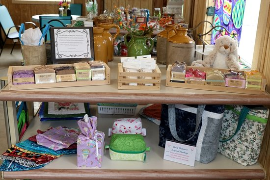 Elba, NY: Hand made soap, lip balm, tissue box covers, hand bags and more!