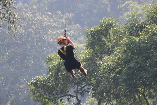 Flight of the Gibbon Pattaya with Thai Lunch and Hotel Transfer: great views