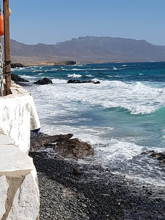 La côte avant d'arriver au phare