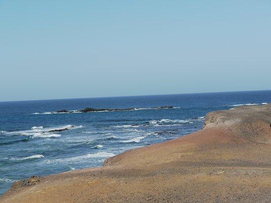 Le bord de mer avant d'arriver