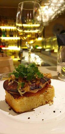Foie gras / brioche