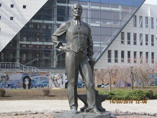 Monument to John James Hughes