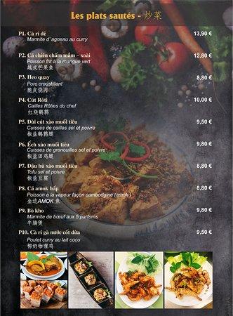 New Saigon, votre restaurant Vietnamien alliant modernisme et simplicité En plein centre de Lognes à côté de la Mairie, sauf lundis soirs & mercredis soirs, ouvert tous les jours |