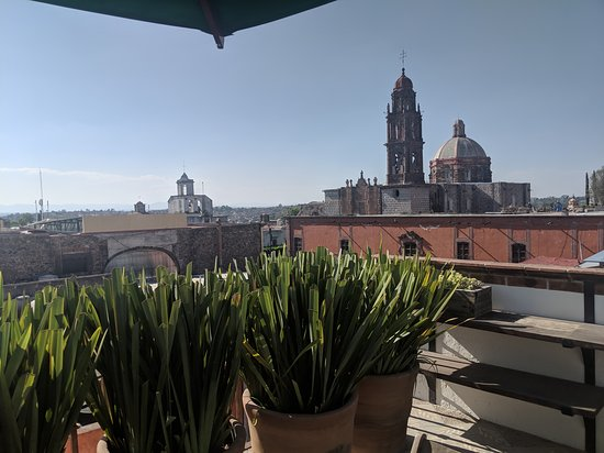Casa de Los Olivos: The beautiful view from the rooftop