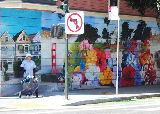 Street smarts mural at 485 Scott street
