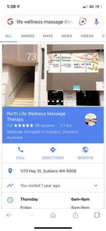 Life Wellness Massage Therapy - Picture of Life Wellness