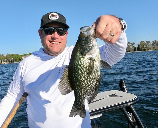 Native Bass Fishing Charters Orlando: Stud Crappie while fishing in Orlando!