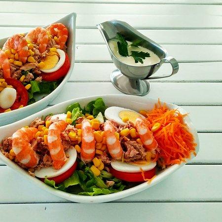 Com o bom tempo chegaram as Saladas Barracuda