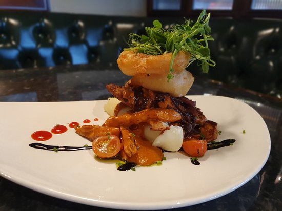 The 'Chicken Stack' Special