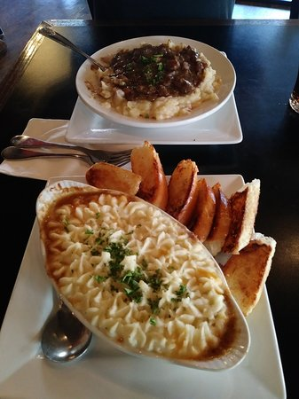 Mill City Brew Werks: Lamb Shepards Pie and Beef Stew