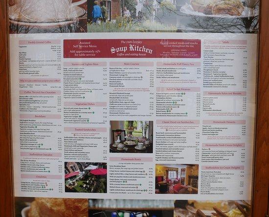 soup kitchen menu ideas